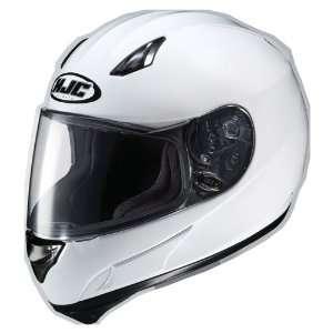 HJC AC 12 Full Face Motorcycle Helmet White Large
