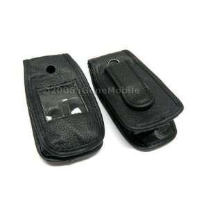 Cingular SYNC Samsung A707 Premium Custom Fit Leather Case