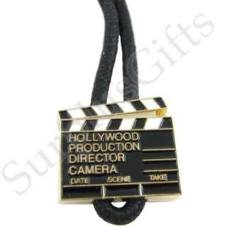 Hollywood Clapboard Slider Rope Key Ring