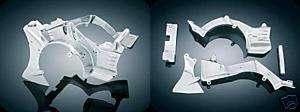 KURYAKYN CHROME ENGINE CASE CVRS 4 HONDA VTX1800 7704