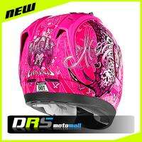 New 2012 Icon Alliance Chrysalis Motorcycle Helmet Pink Size Medium MD