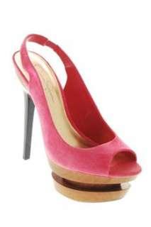 Jessica Simpson CINNA Womens Platform High Heels Pink Designer Medium
