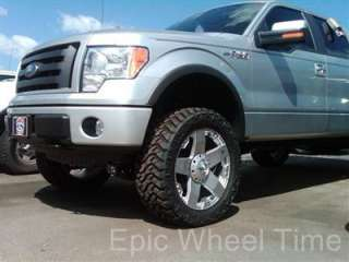 "18"" XD ROCKSTAR WHEELS & 32"" NITTO TERRA GRAPPLER TIRES 6 LUG 6X5.5"