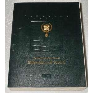 1991 CADILLAC ELDORADO SEVILLE Service Repair Manual