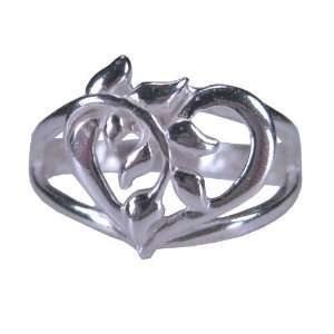 Tomas Sterling Silver Heart Vine Ring   8 Jewelry