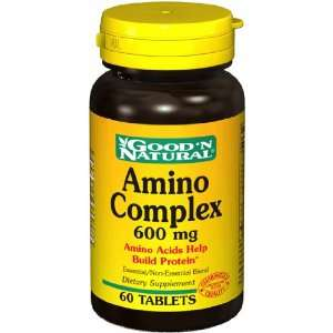 Amino Complex 600 60 Tabs   Goodn Natural: Health