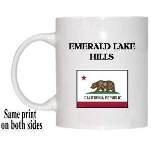 US State Flag   EMERALD LAKE HILLS, California (CA) Mug
