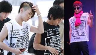 SHINee KEY/Jonghyun BIGBANG G DRAGON 2NE1 DARA☆ SAME STYLE Black