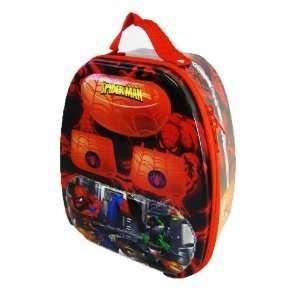 Man (Spiderman / Spider Man) Mini Backpack Tin Lunch Box Toys & Games