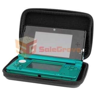 3DS Travel Black Airform Case Game Hard Bag Skin EVA Cover Box