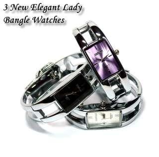New Elegant Lady Stylish Bangle Watches b193k |