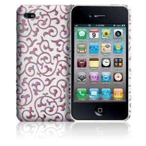 Case Mate iPhone 4 Ivy Case   White & Pink Cell Phones
