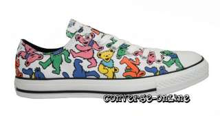 CONVERSE All Star® GRATEFUL DEAD BEARS Trainers SIZE 10