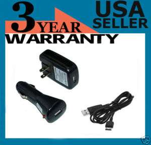 USB/CAR/WALL Charger Cell Phone for Samsung u640 Convoy