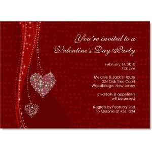 Little Love Necklaces Valentines Day Invitations Toys & Games