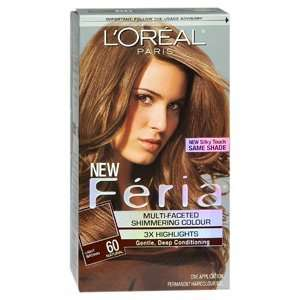 LOREAL FERIA 60 CRYSTA BROWN 1 per pack by LOREAL HAIR CARE DIVISION