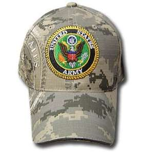 USA US ARMY SEAL STONE KHAKI CAMOUFLAGE CAP HAT ADJ NEW