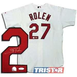 Scott Rolen St. Louis Cardinals Autographed Authentic Jersey