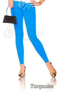 WET LOOK Winter Warm THICK & HEAVY Full Length Leggings Mix Colour