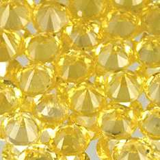 2mm 50pcs Round Diamond Natural Yellow Sapphire cys1