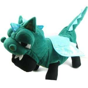the Dragon Dinosaur Costume   Color Green, Size XS Pet Supplies