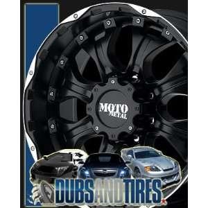 20 Inch 20x9 MOTO METAL wheels MO959 Matte Black Machined