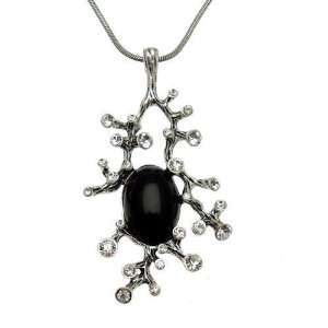 Acosta Jewellery   Gothic Branch   Crystal Necklace
