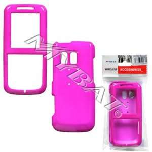 SAMSUNG MESSAGER MESSENGER R450 HOT PINK SOLID HARD CASE