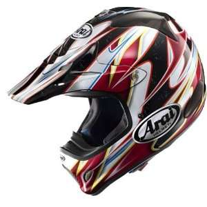 VX Pro 3 Motorcycle Helmet, Akira Narita Red, XS Sports & Outdoors