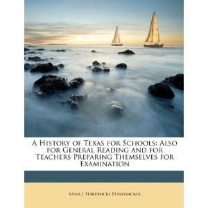 for Examination (9781147478303): Anna J. Hardwicke Pennybacker: Books