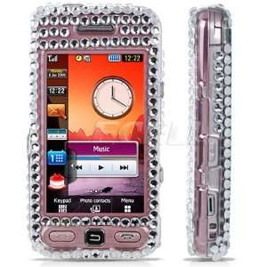 CLEAR DOG CRYSTAL DIAMOND BLING CASE FOR SAMSUNG S5230 Electronics