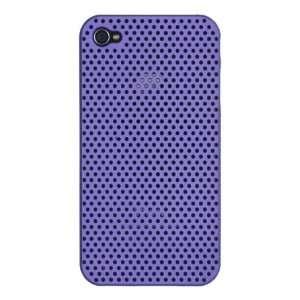 Apple iPhone 4 * Breathable Mesh Hard Case * (Purple) 16GB