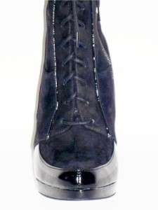 JESSICA SIMPSON Rosey Womens Calf Boots Black Suede 8