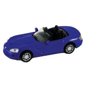 HO Die Cast 2003 Dodge Viper RT10, Blue Toys & Games