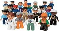 LEGO DUPLO Community People Set Lego Education 20 Piece 9224 Building