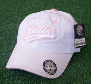 Dallas Cowboys Womens Pink White Hat Cap Reebok New