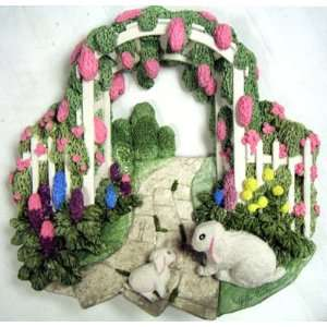 Bakers DeJavu Collection Bunny Tales Wall Plaque Everything Else
