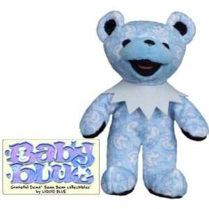 Grateful Dead   Bean Bear Plush Toy   Baby Blue Toys & Games