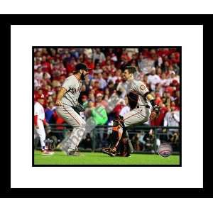 Brian Wilson and Buster Posey San Francisco Giants Framed
