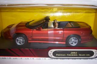 Pontiac Firebird Trans AM. Die Cast car. 118 scale Road Signature