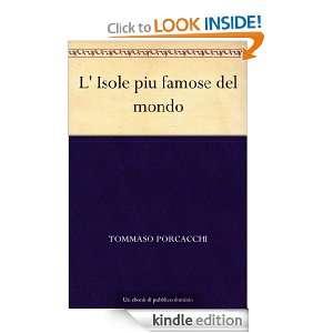 Isole piu famose del mondo (Italian Edition) Tommaso Porcacchi