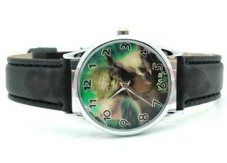 Brand New Star Wars Yoda leather Wrist Strap Watch QT1121