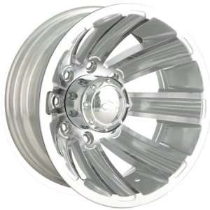Alloy Ion Style 166 17x6.5 Chrome Wheel / Rim 8x210 with a