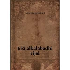 632 alkalabadhi rijal www.akademya.net  Books