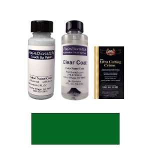 2 Oz. Dark Green Pearl Metallic Paint Bottle Kit for 1999