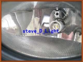 2PCS H3 Cree q5 5W super white 6000k led car bulb front head fog light