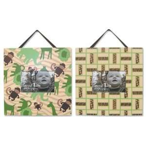Jungle Jam Nursery Baby Bedding Picture Frame Set Baby