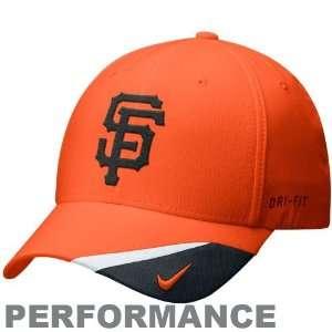 Nike San Francisco Giants Orange Dri FIT Bright Light