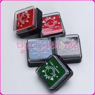5pc inkpad Ink Stamps Pad Scrapbook Art Project Craft