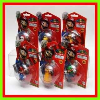 Nintendo Super mario Bros Luigi Daisy Shy Guy Figure 6A